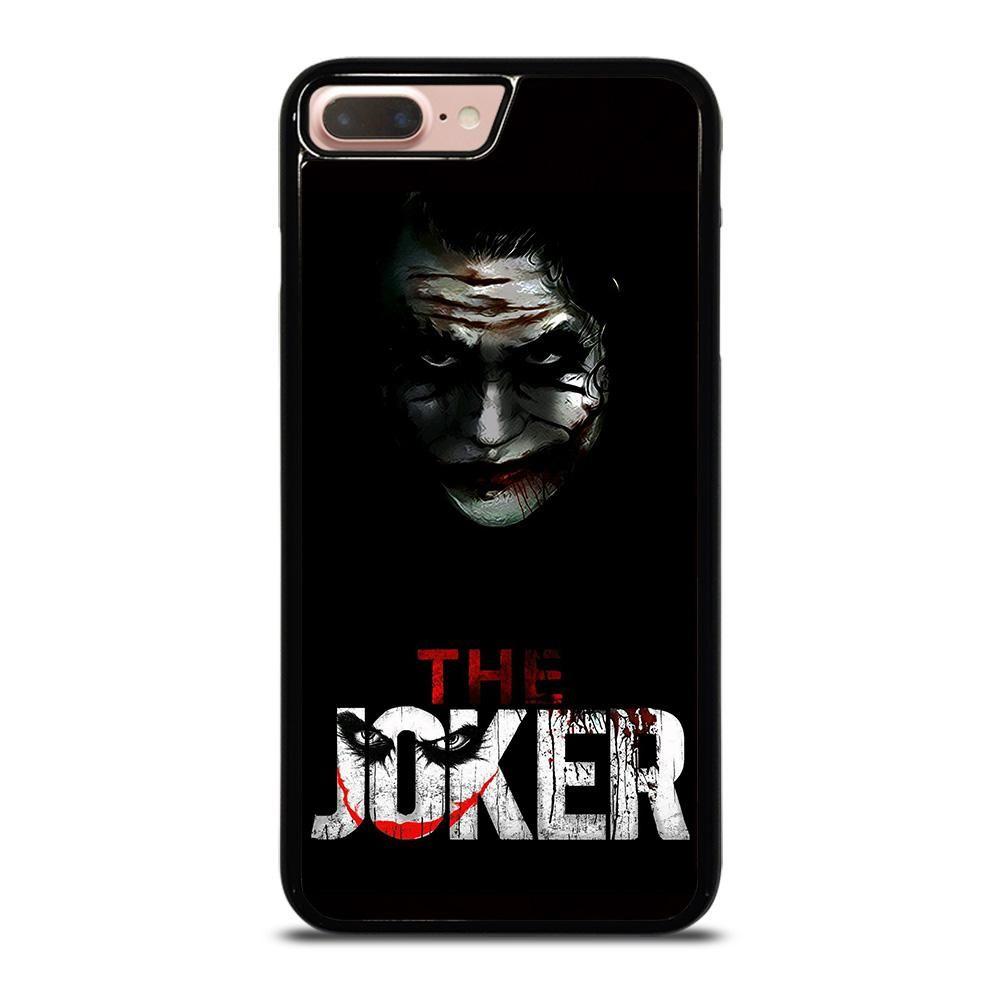 THE JOKER BLACK iPhone 8 Plus Case - casefine   Black iphone 7 ...