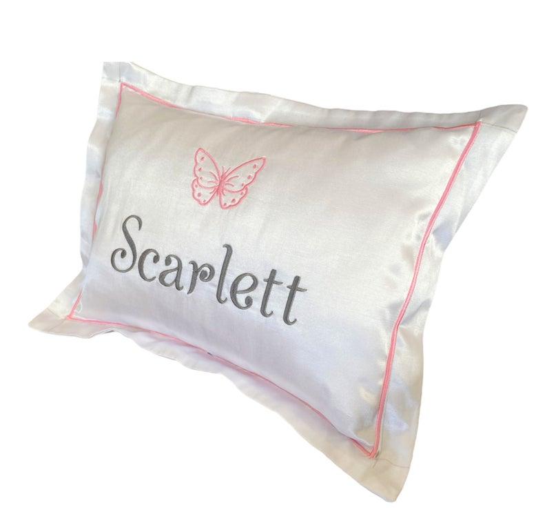 Personalized Baby Pillow, Name Pillow, Baby Gift, Custom Baby Pillow, Baby Shower Gift, Newborn Pillow, Baby Pillow Case, Embroidery Pillow