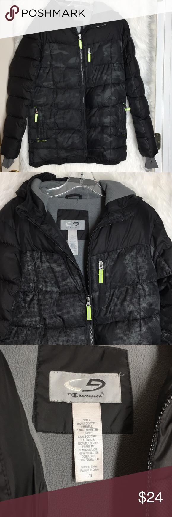 Boys C9 Winter Coat Euc Champion Jackets Coats Winter Coat Champion Jacket Coat [ 1740 x 580 Pixel ]