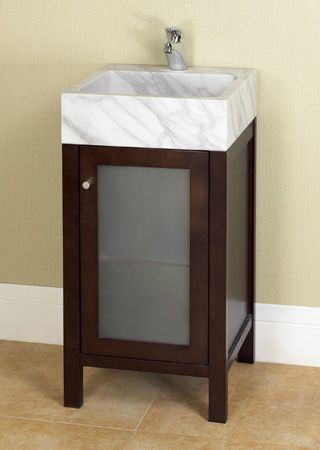 """16 Bathroom Vanity ronbow cami contempo collection18"""" vanity 16-9/16'' l x 17/5/16"""