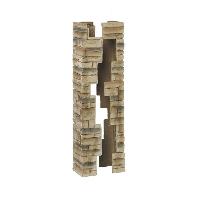 Deckorators Beige Stacked Stone Post Cover With Images