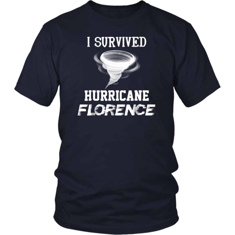 af6dbefb I Survived Hurricane Florence T-Shirt | I Survived Hurricane ...
