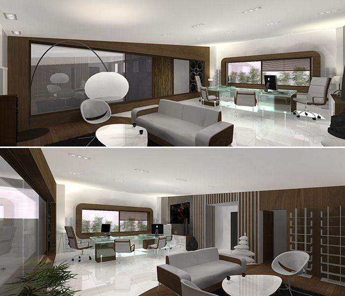Axial Concept:Portfolio / Design d\'intérieur / Espace professionnel ...