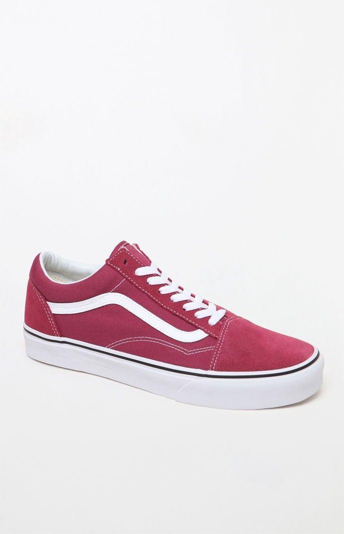 Vans Old Skool Magenta Shoes - 10  754b2ed34