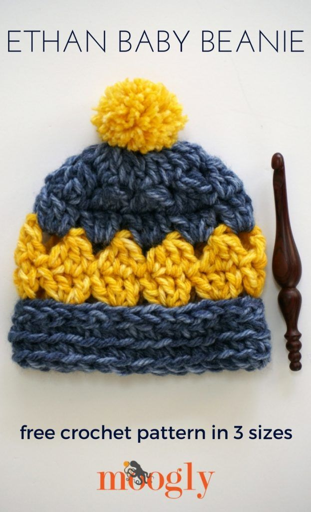Ethan Baby Beanie Free Crochet Crochet And Patterns