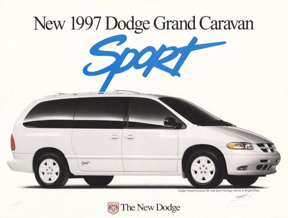1997 Dodge Grand Caravan Sport Flyer 11 X 8 25 Grand Caravan Sports Flyer Caravan