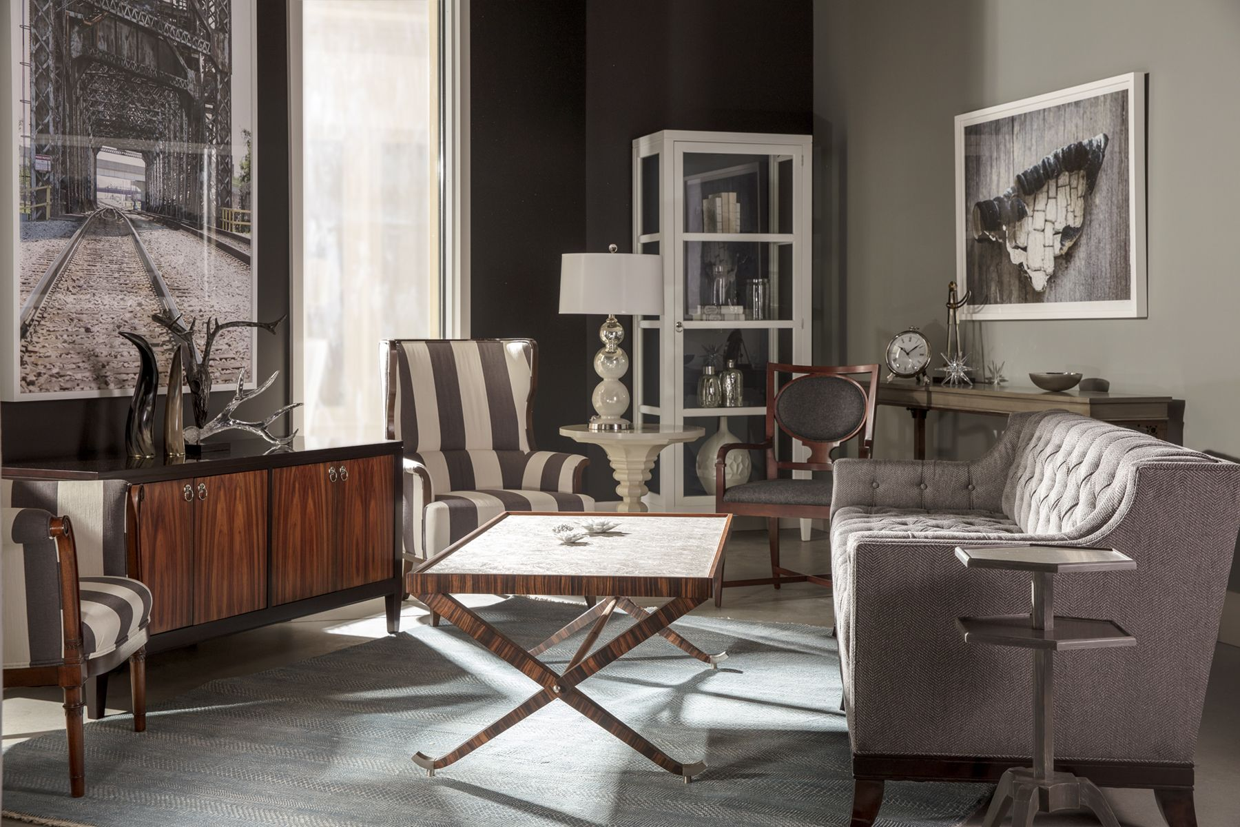 A lovely bination of Kindel Karges and Councill Furniture
