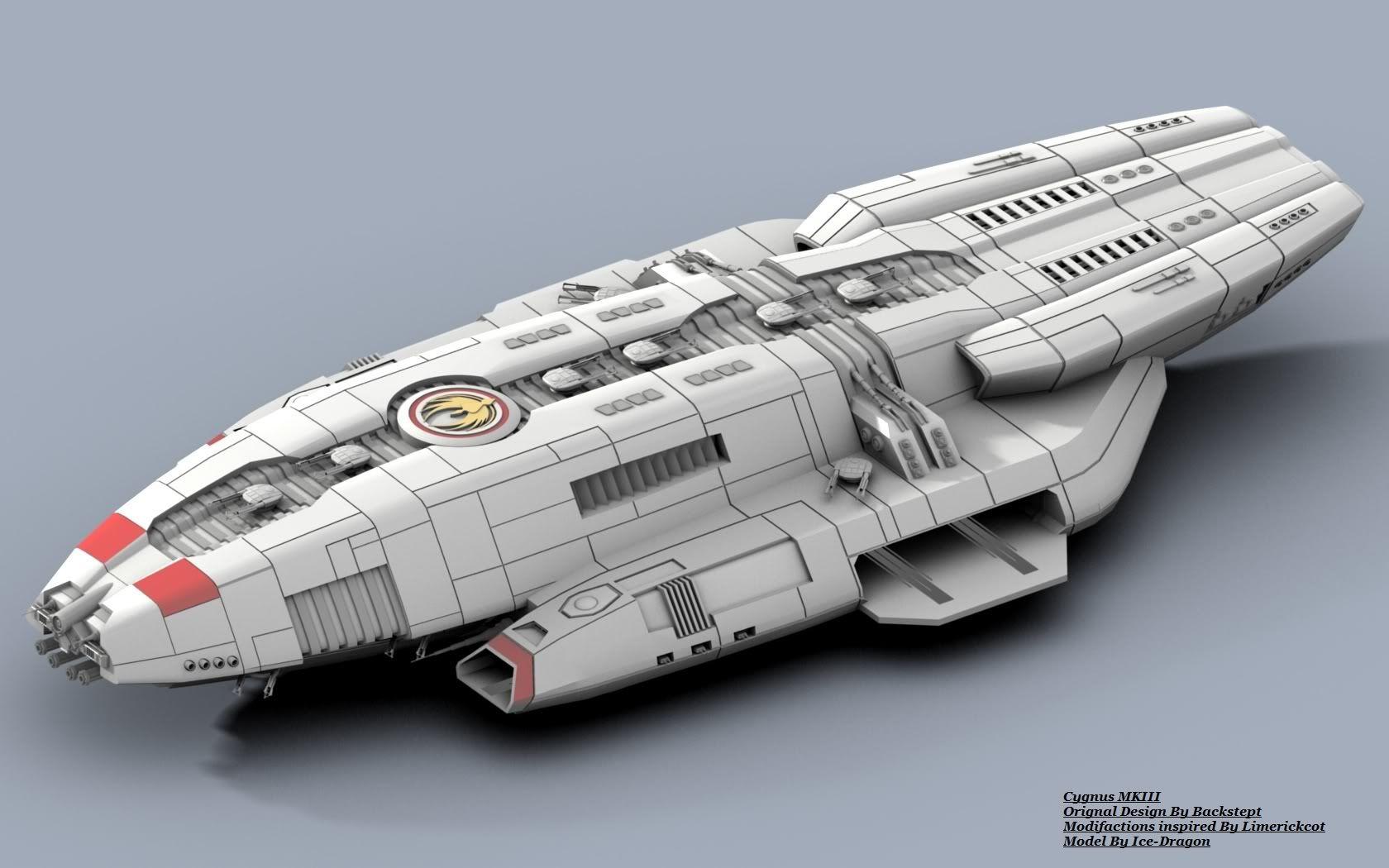 Design Blueprints Online Rob Hill Uploaded This Image To Blender Ships Bsg Cygnus
