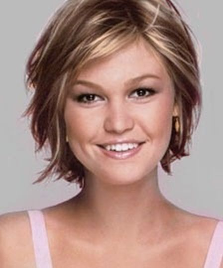 Julia Stiles Messy Updo - Hair Lookbook - StyleBistro