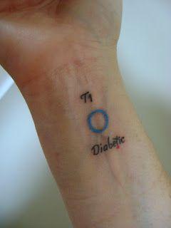 diabetes tipo 1 simbologia
