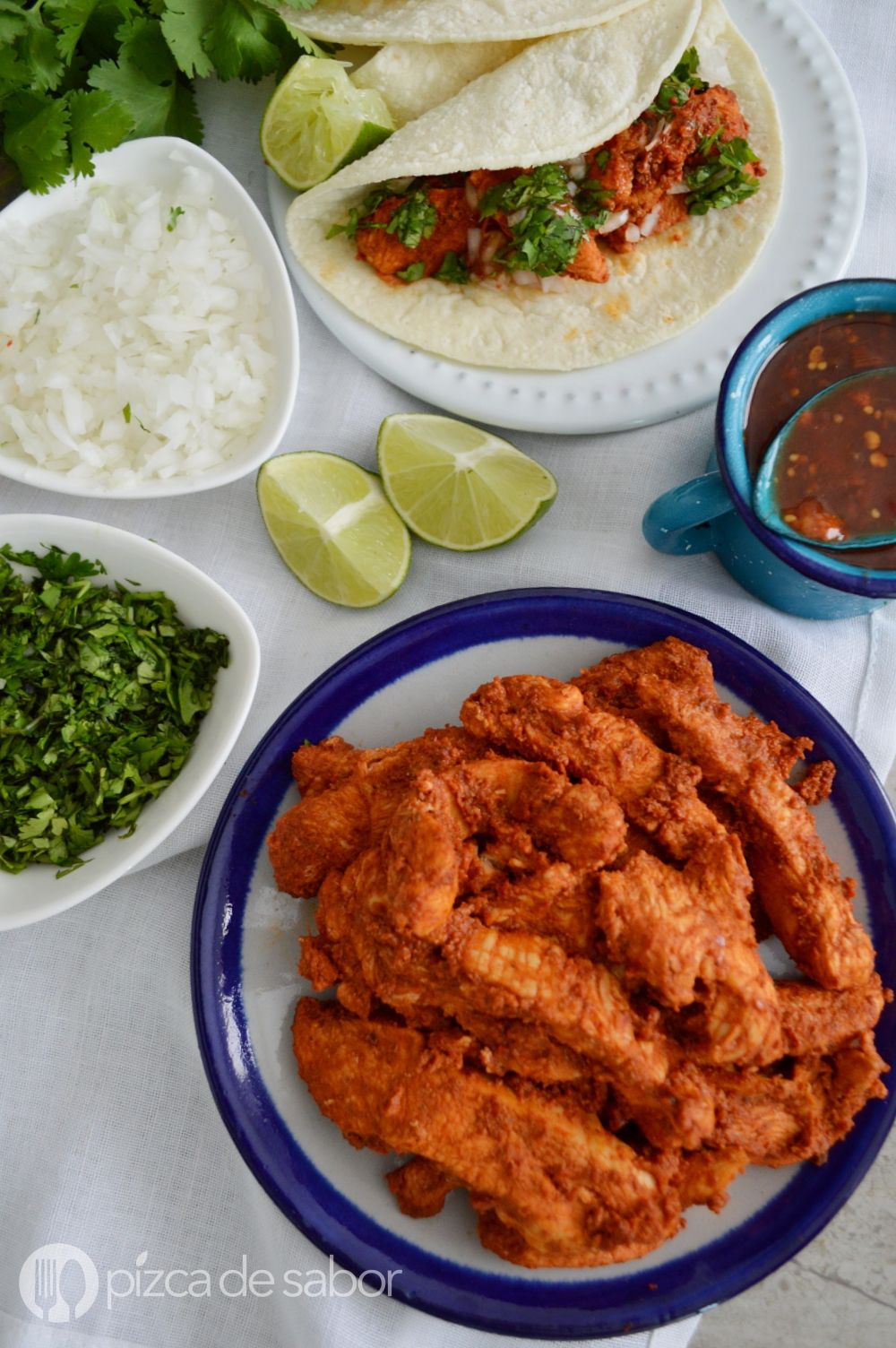 Cómo Hacer Pollo Al Pastor Pollo Adobado Al Pastor Receta Pollo Adobado Recetas Mexicanas Pollo