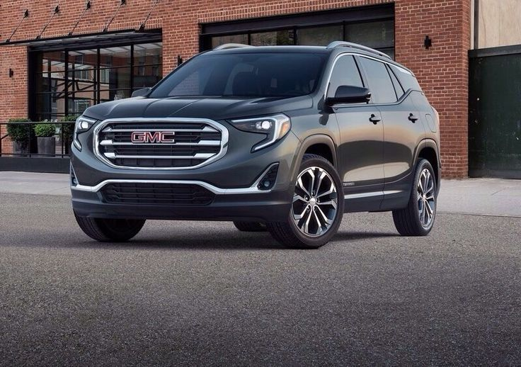 New Gmc Terrain >> Brand New Gmc Terrain On Detroit Gmc Introduced The All New