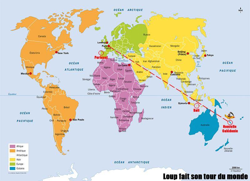 nouvelle calédonie carte du monde Carte de situation de la Nouvelle Calédonie dans le monde. M.M
