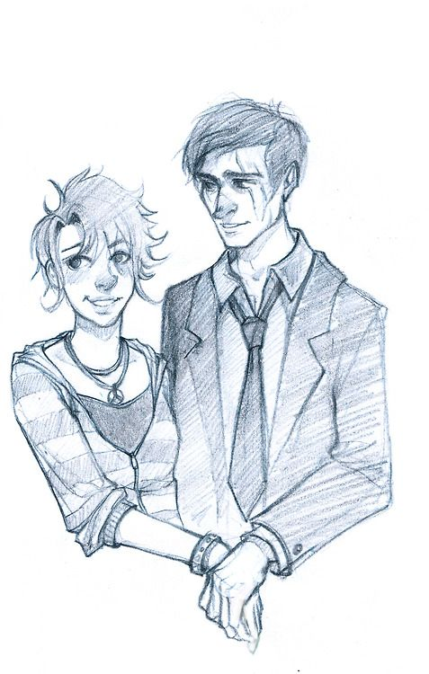 "Remus and Tonks by mickisketch ""I'm sorry. I never wanted any of you to die for me. And Remus, your son?"" ""Others will tell him what his mother and father died for. One day, he'll understand."""