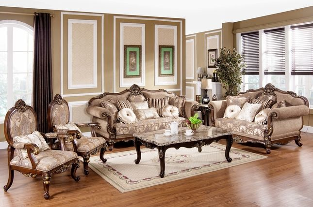 Formal Sofas For Living Room Modern Accent Rugs Tuscan Villa Antique Style Traditional Sofa Set Ideas