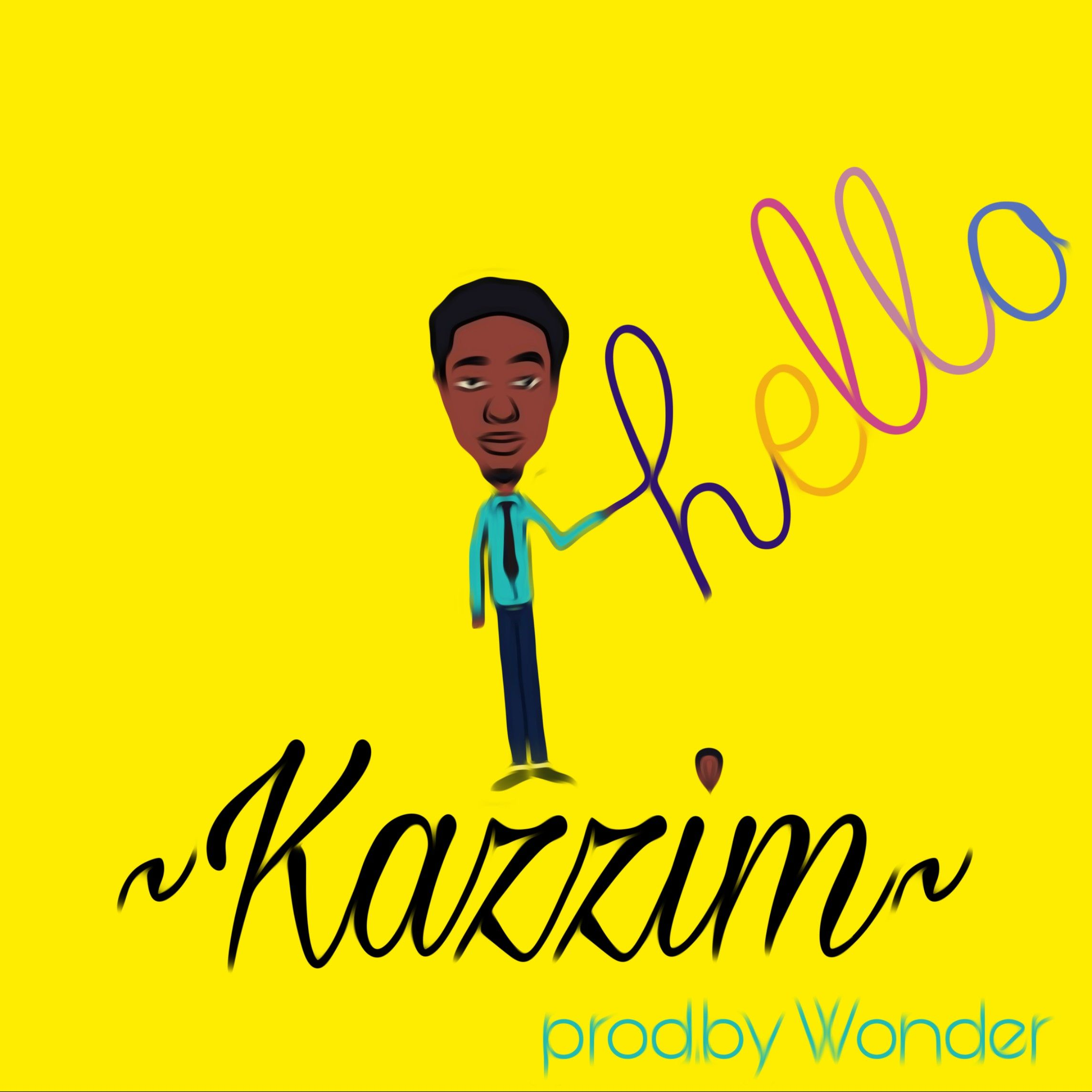 """Kazzim """"hello"""" Letter song, Sing for you, New love"""