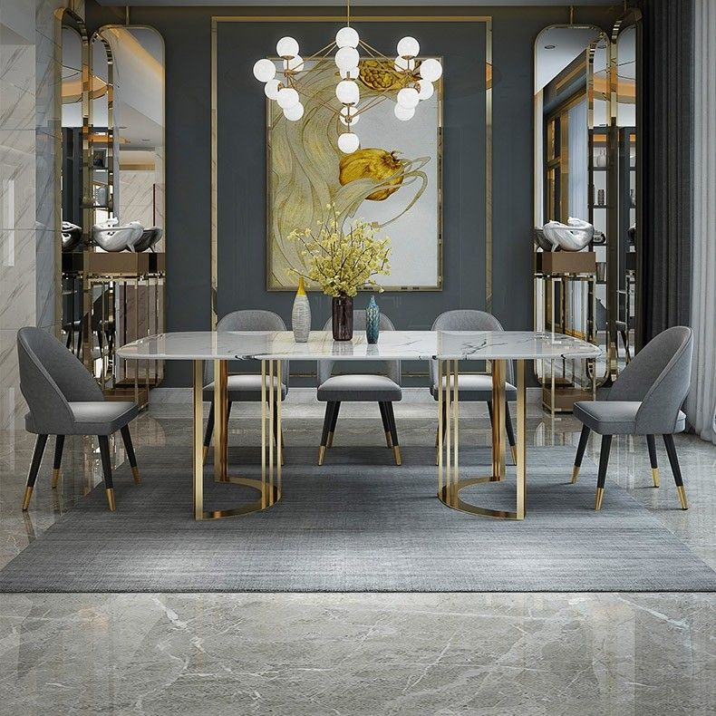 Pin By Hussain Ansari On Decorate With Me In 2021 Dining Table Marble Dining Table Gold Steel Dining Table