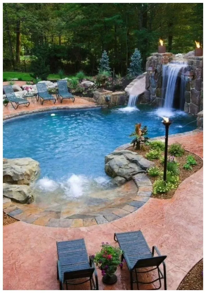 89 Modern In Ground Pool Ideas To Love 40 Bingefashion Com Home Backyardpoollandscapin In 2020 Cool Swimming Pools Backyard Pool Designs Swimming Pools Backyard
