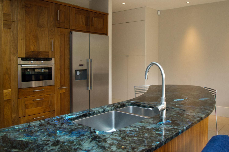 Blue Kitchen Countertops Purple Cabinets Labradorite Madagascar Granite Google Search Stone