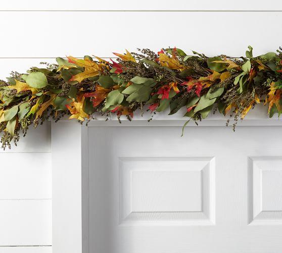 Live Autumn Leaves Garland Leaf Garland Garland Pre