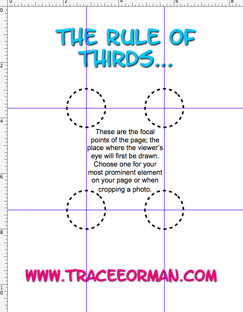 Designing Your Cover Page The Rule Of Thirds Rule Of Thirds Teaching Rules Cover Pages