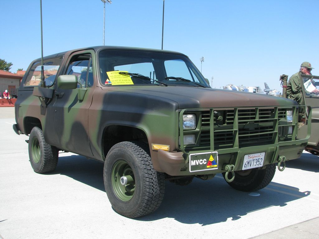 Cucv Blazer How Could You Go Wrong With A 4x4 Military