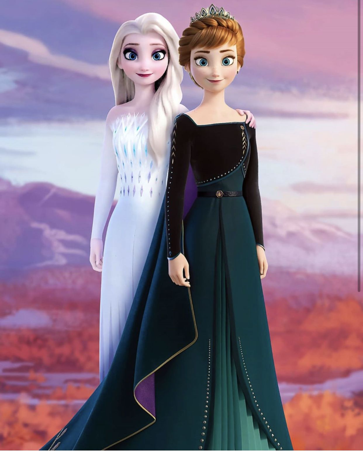 Pin by Duchess Of The Moon on Frozen 2 Disney princess