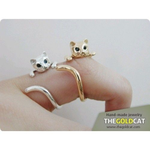 Cat rings....I had one of these once.  I lost it:(
