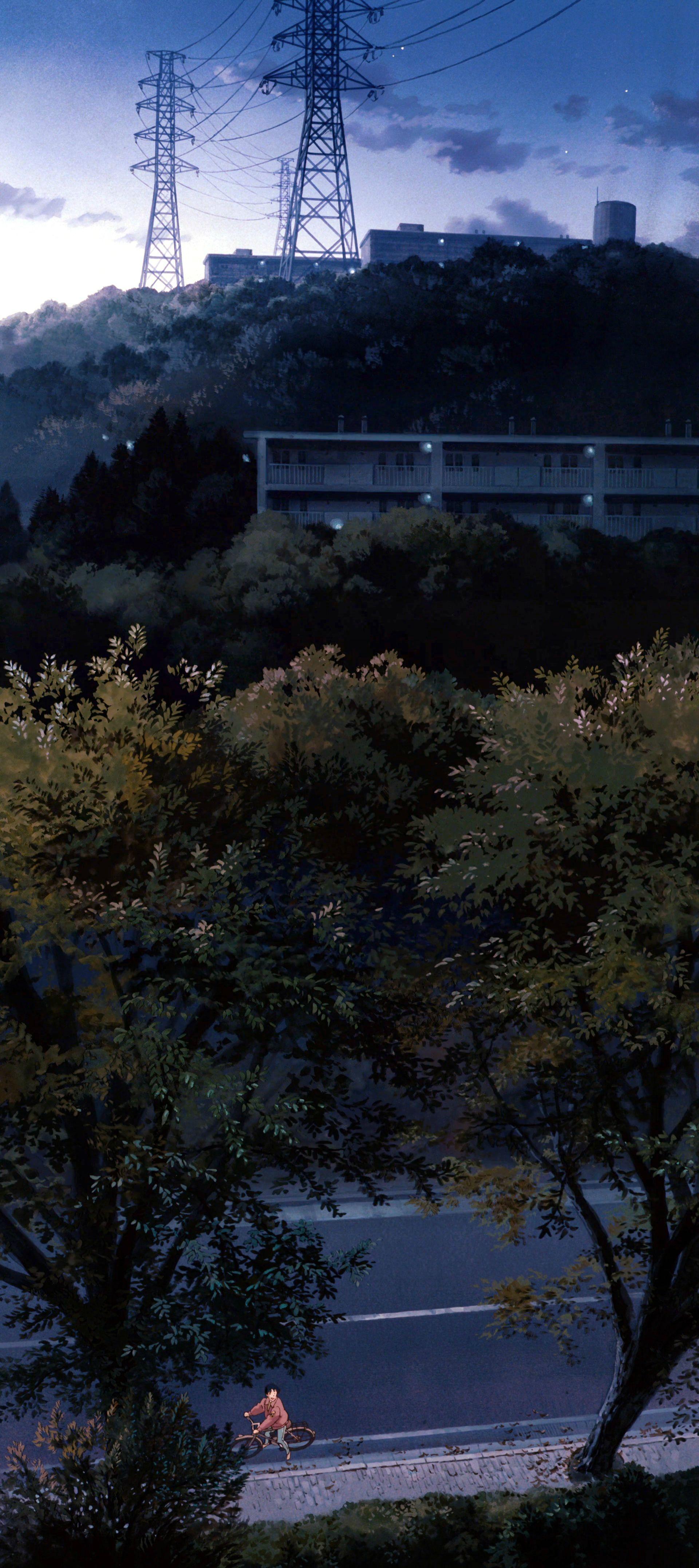 Whisper Of The Heart Ghibli Art Fantasy Landscape Anime Scenery