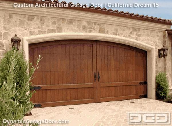 Luxury Wood Garage Doors They Still Roll Up