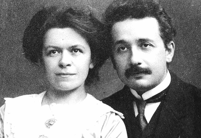 Albert et Mileva Einstein   (Albert Einstein :Comment je vois le Monde, cf visiter)