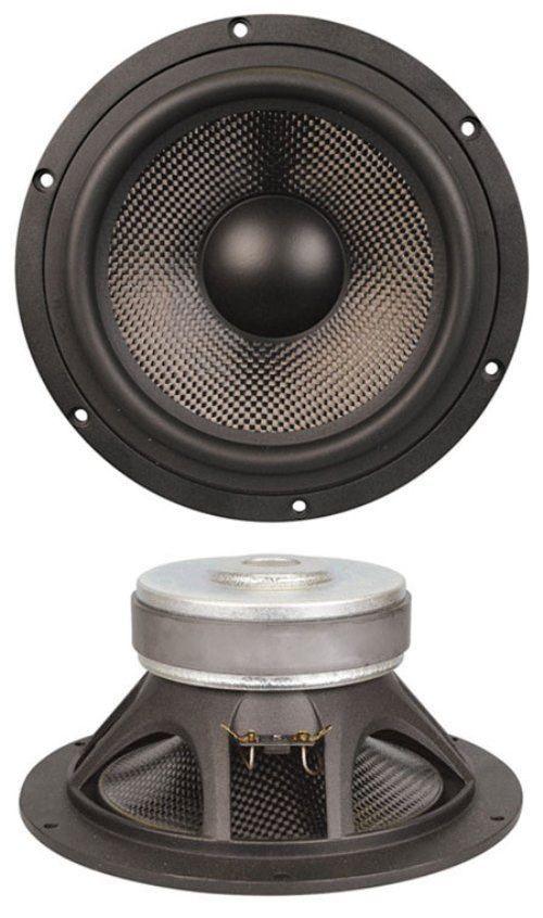 Speaker Parts and Components: New 9 Carbon Fiber Woofer Speaker.9