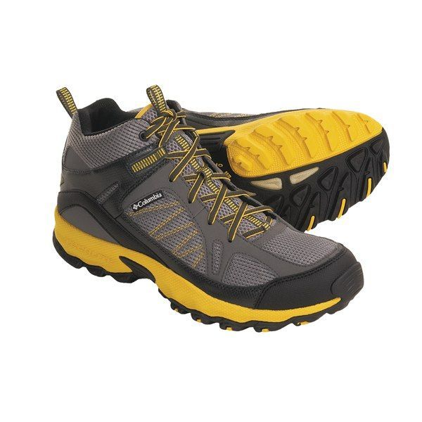 Columbia Lightweight Hiking Boots for Men | Light Hiking Shoes for ...