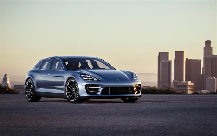Populaire Télécharger fonds d'écran 4k, Porsche Panamera, Sport Turismo  XY04