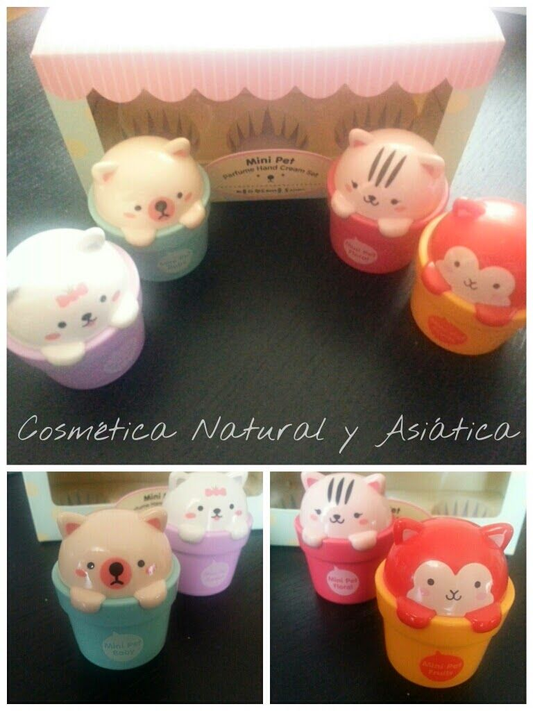 Lovely Me: Mini Pet Perfume Hand Cream de The Face Shop