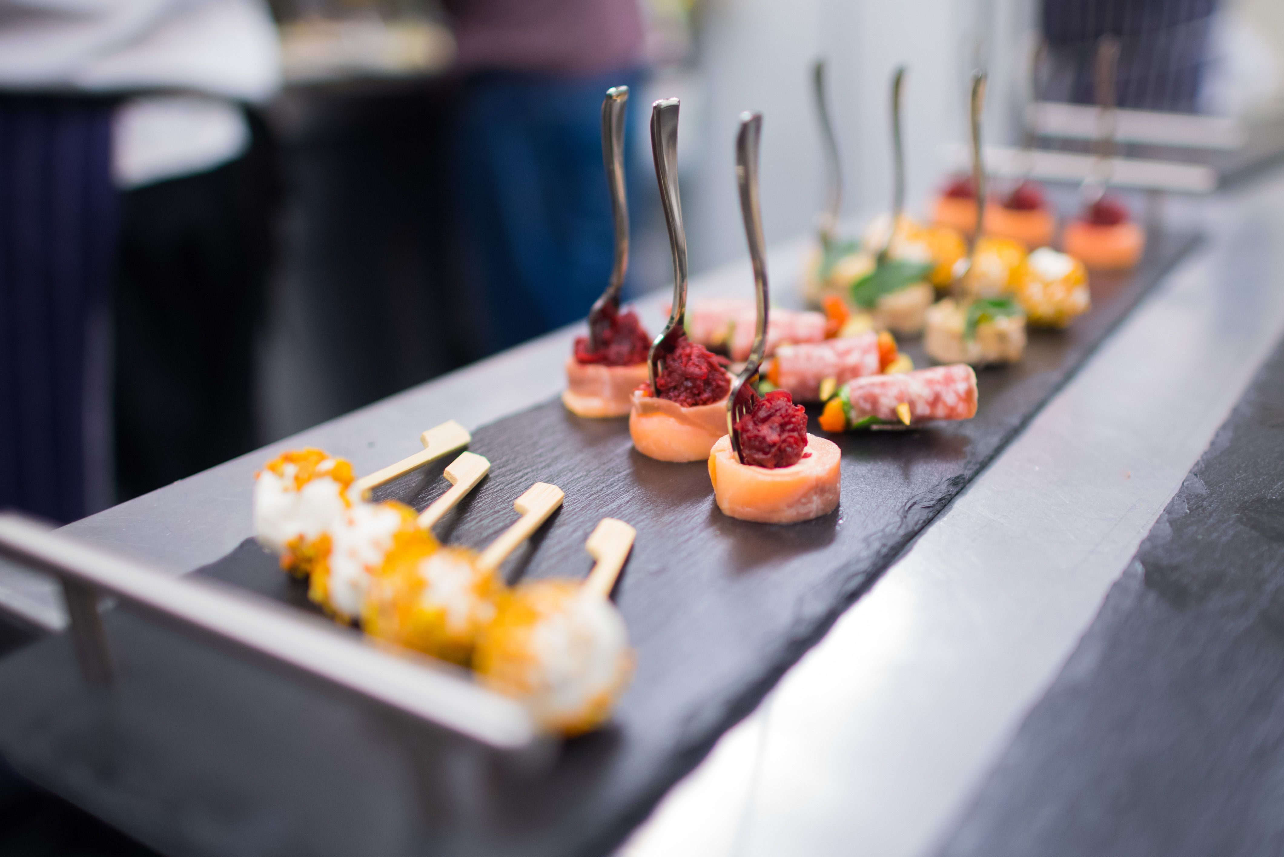 Fantastic Canapes Provided By Unique Norfolk Venues