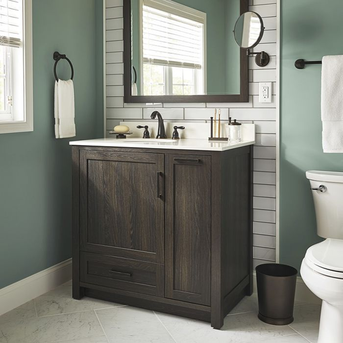 stand alone bathroom sink with built in cabinet - Google Search ...