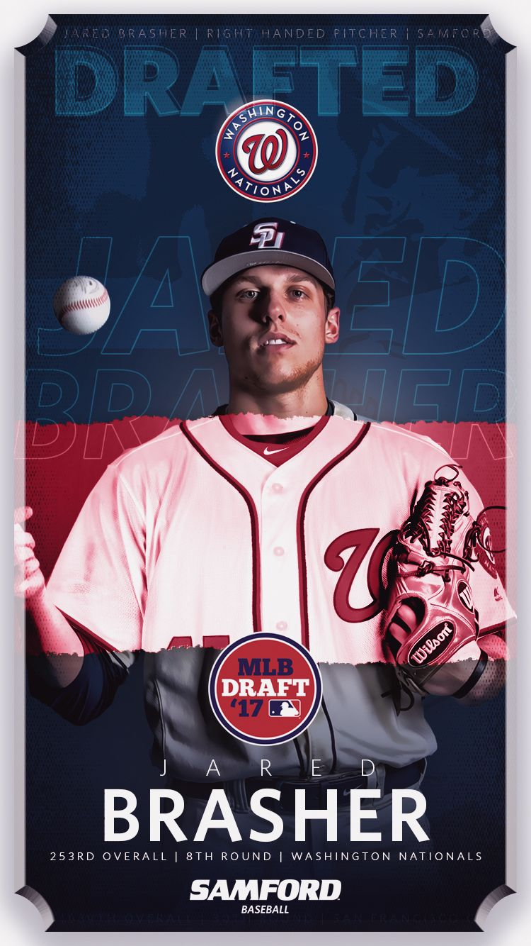 Mlb Draft Graphics 17 On Behance Sports Advertising Sports Design Mlb