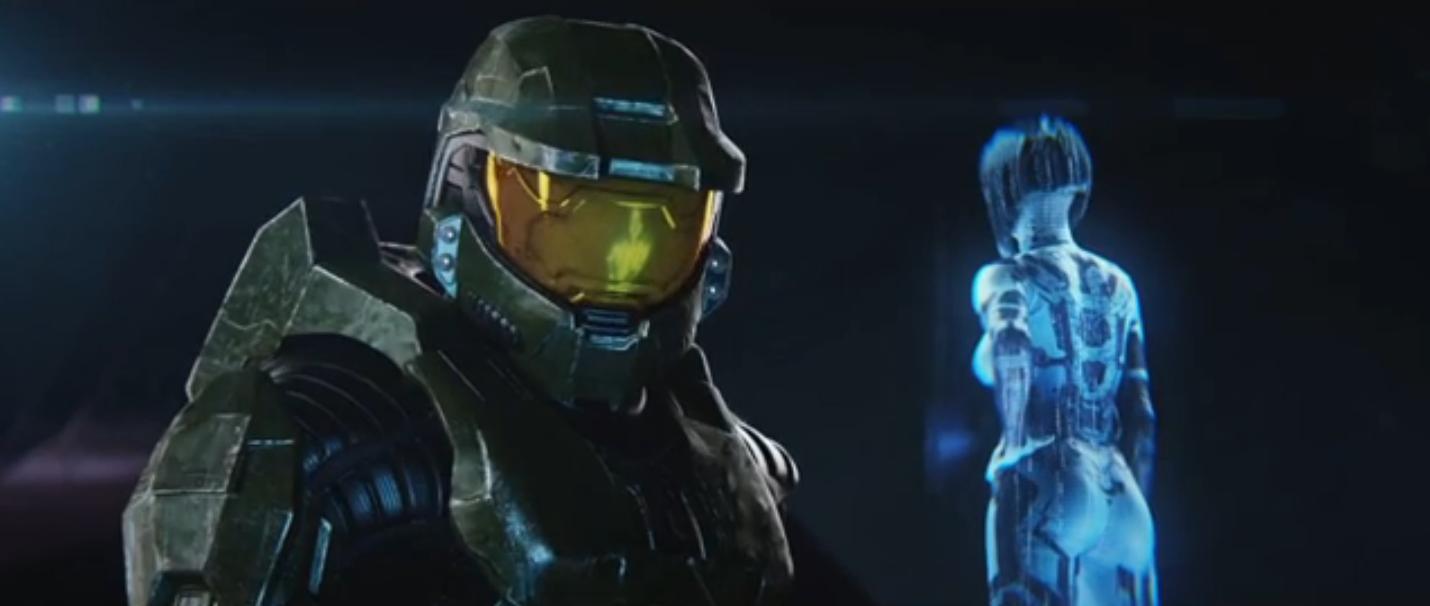 Master Chief And Cortana Halo 2 Anniversary Halo 2