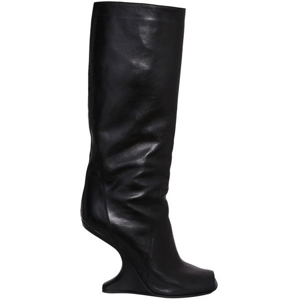 Open Toe CYCLOPS CANTILEVERED KNEE HIGH Boots Fall/winter Rick Owens Cheap Sale Recommend MWLBQzO1kI