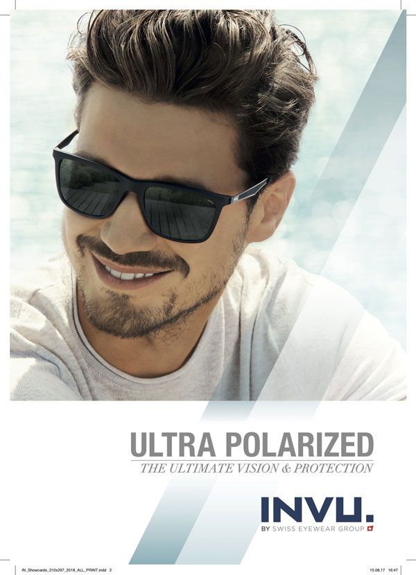 132256b159 The innovative global sunglass brand – INVU eyewear ultra polarized – was  awarded the renowned Pont d Or Award by the optical trade magazines Mode et  ...