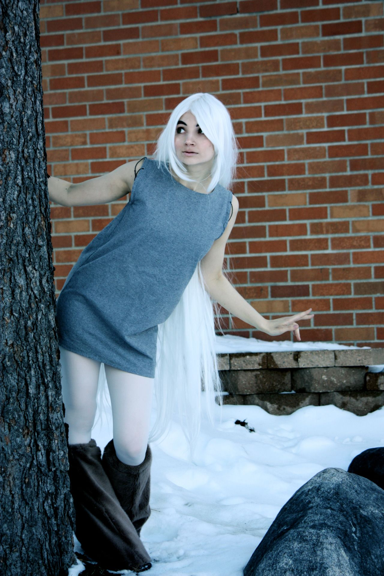 Aisling cosplay from The Secret of Kells....This one I ...