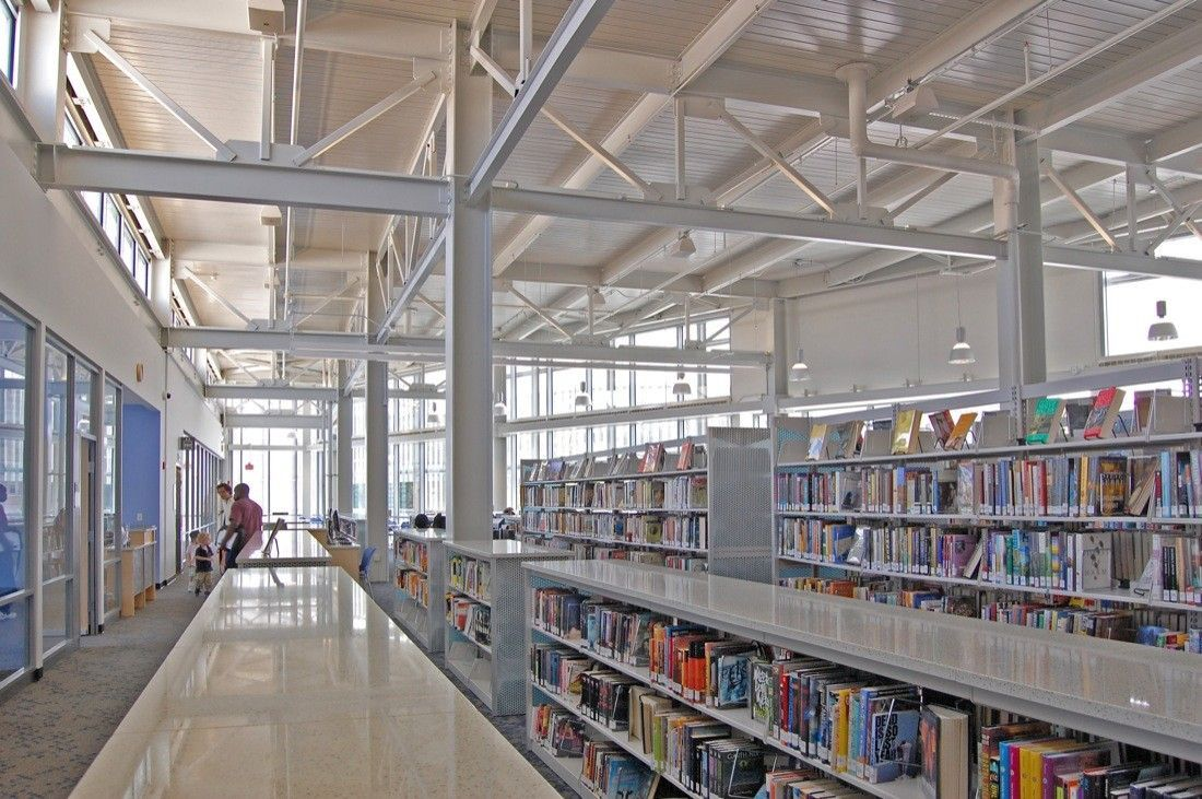 Dcpl Shaw Library Davis Brody Bond The Neighbourhood Cultural Architecture Public Library