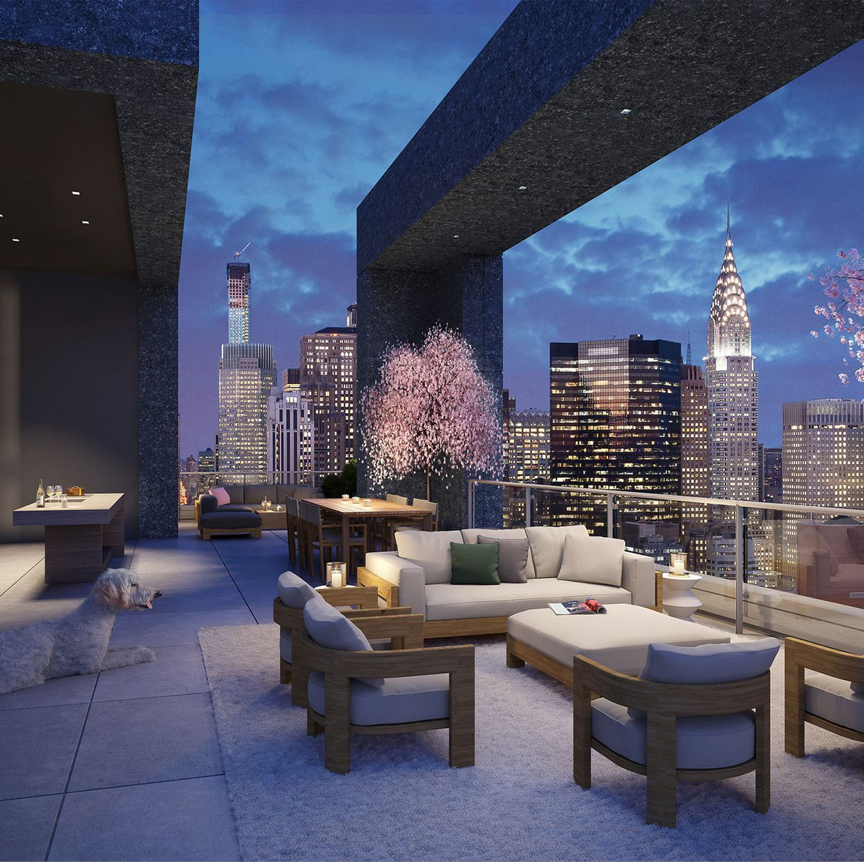 This Is What A Five Story 98 Million Penthouse In Nyc Looks Like New York Penthouse Luxury Penthouse Luxury Apartments Interior