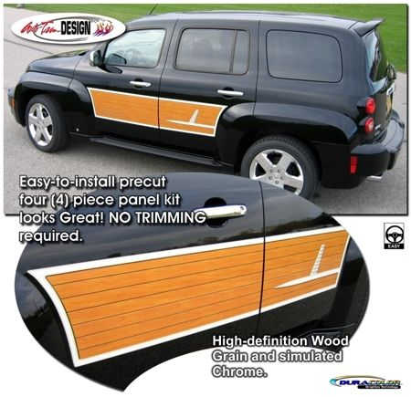 Vehicle Specific Graphic Kits For Chevrolet Hhr That Are Precut