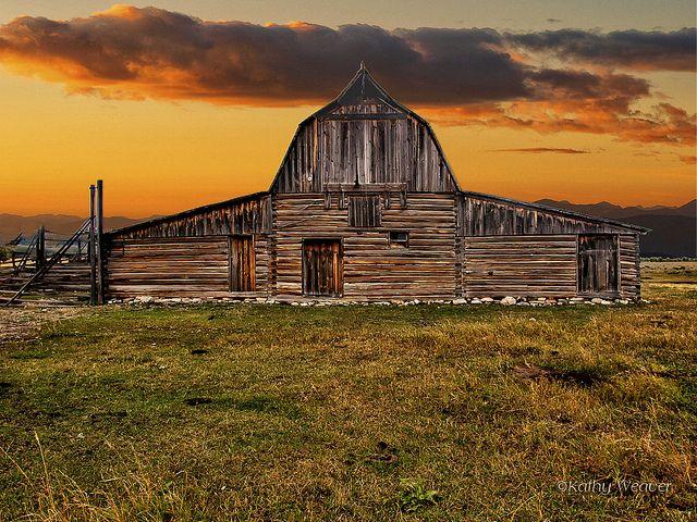 Sundown On the Farm, via Flickr.