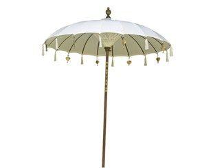 Ombrelloni Legno Da Giardino.Ombrellone Rotondo In Tessuto British India Ombrellone