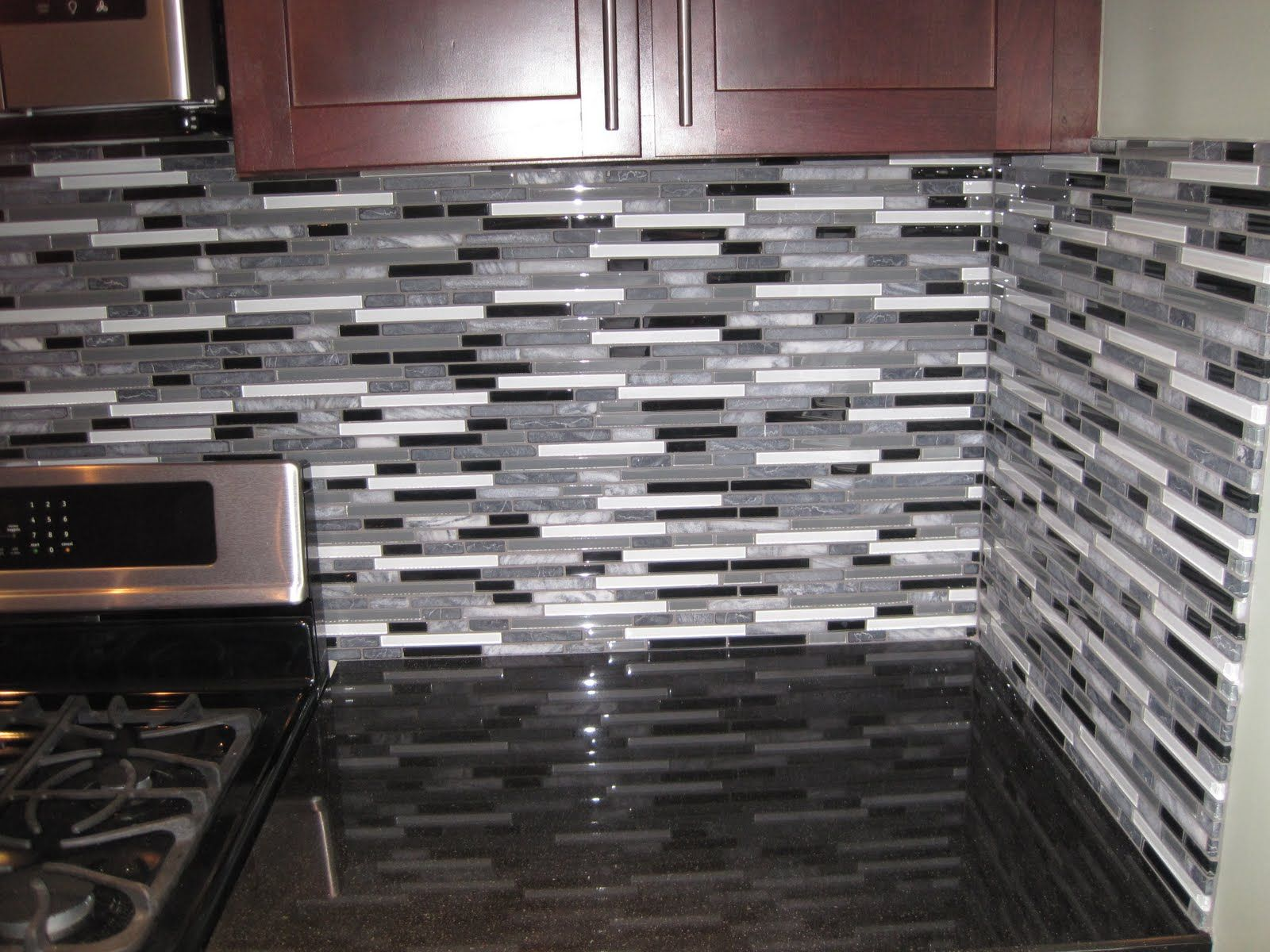 glass tile backsplash ideas for kitchen | DS Tile and Stone ...
