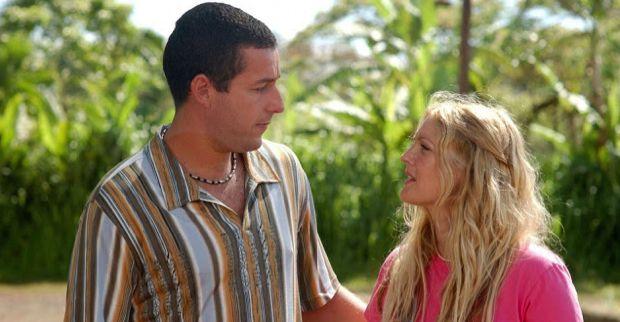 "Adam Sandler and Drew Barrymore romantic comedy renamed ""Familymoon"""