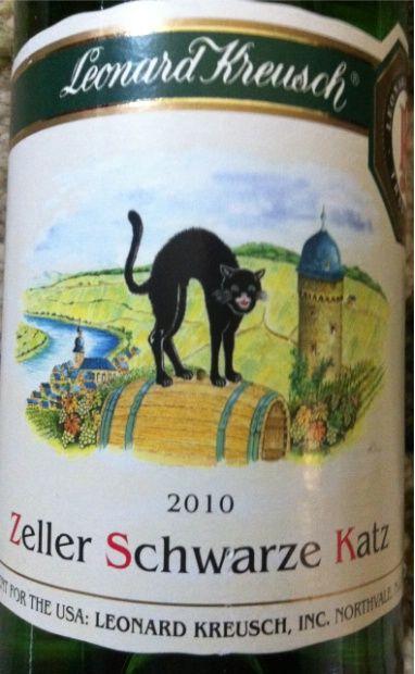 Favorite Wine Leonard Kreusch Zeller Schwarze Katz Riesling All